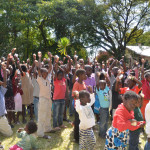 A Zambian education and hygiene program gave out 200 SoapBox soaps!