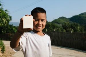 Thailand - Holding Soap (Urban Light)
